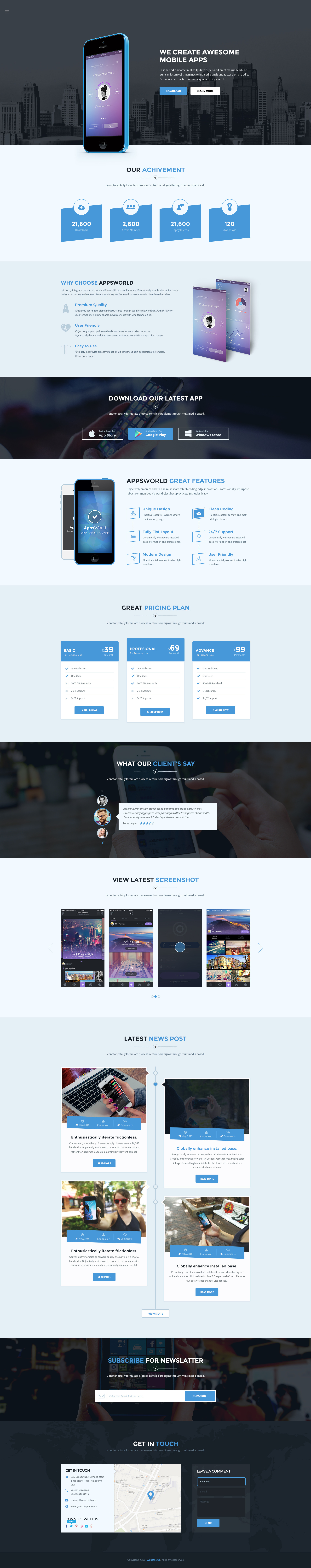 https://dribbble.com/shots/2138505-AppsWorld-Apps-Landing-Page