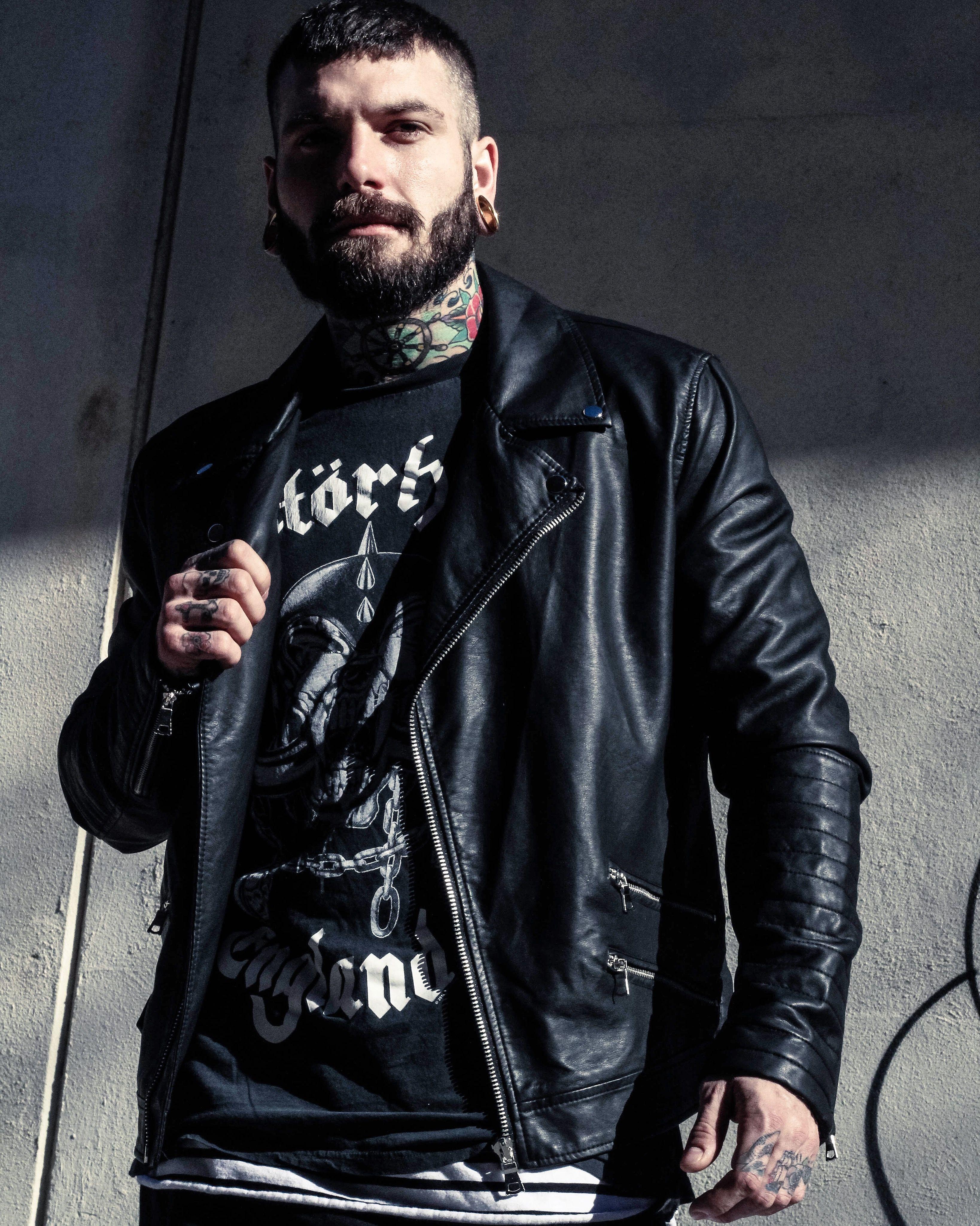 beard bearded tattoo tattoos tattooed