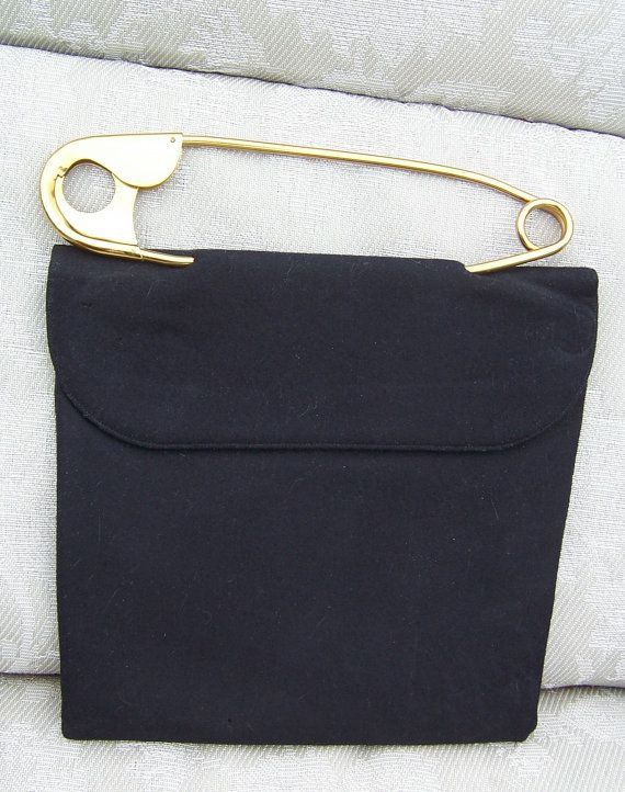 9f8f9ee683a1b Vintage Ingber Safety Pin Purse have one just curious how much it is worth   !!