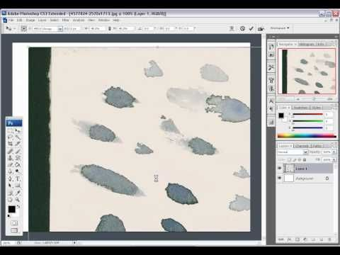 How To Create Watercolor Paper In Photoshop Youtube Photoshop