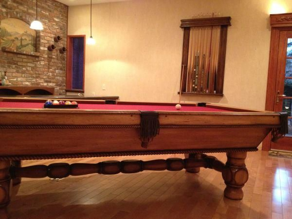 Golden West Valencia Model Pool Table Was Manufactured From 1976