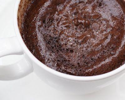 2 Stews: 1-2-3 Chocolate Microwave Mug Cake