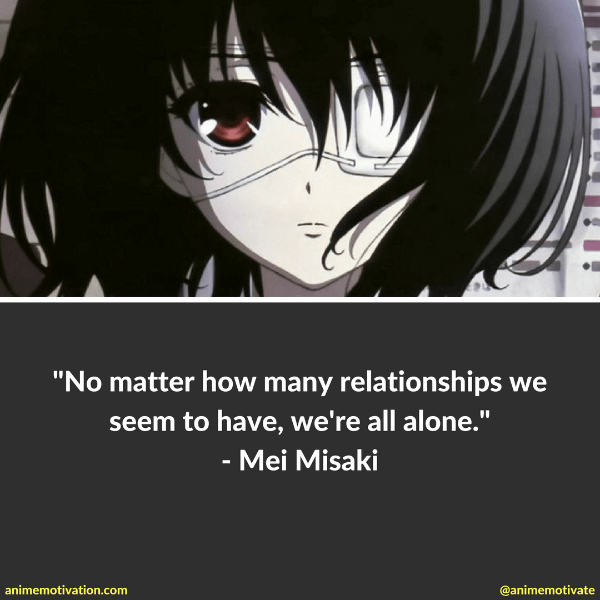 37 Of The Darkest Anime Quotes That Will Hit You Hard