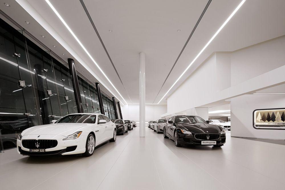 501 Swanson Melbourne S Audi And Maserati Dealership By Elenberg