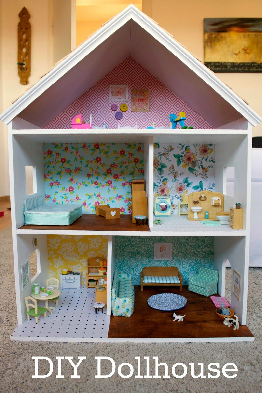 Diy sylvanian dollhouse house of wimm dollhouse diy sylvanian