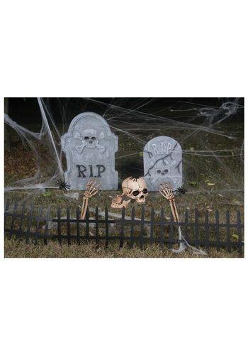 Cemetery Kit - Scary Graveyard Outdoor Decorations #Halloween #Decor
