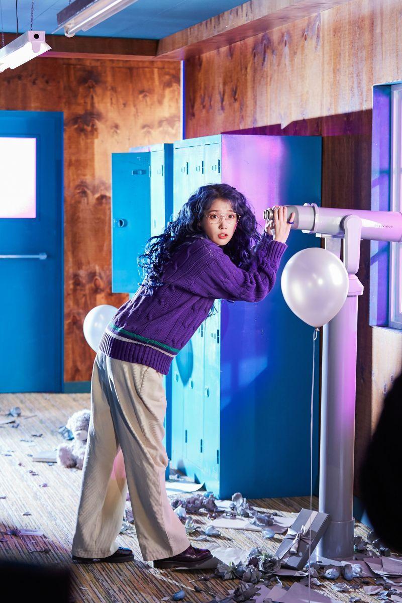 IU 'Blueming' MV Shooting. Konser