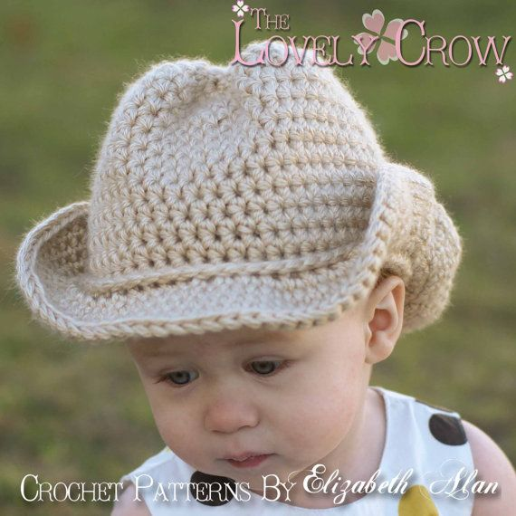 Baby Cowboy Crochet Pattern Cowboy Hat for BOOT SCOOT\'N Cowboy Hat ...