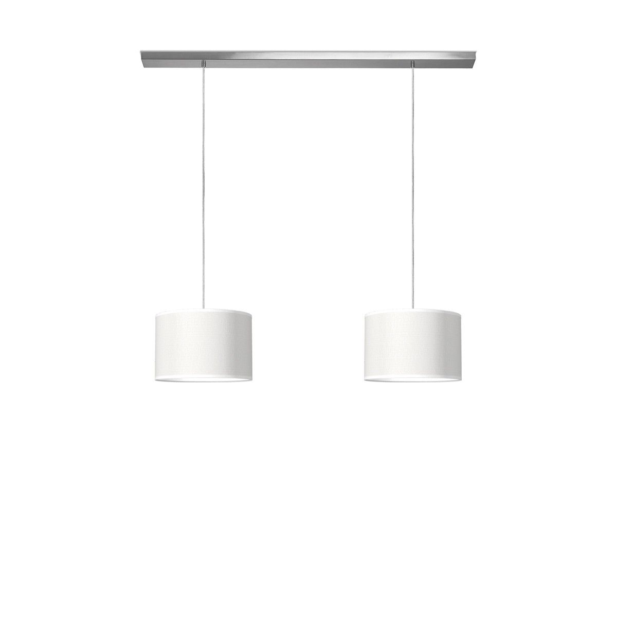 hanglamp beam 2 bling Ø 30 cm Mat staal | Besselink licht ...