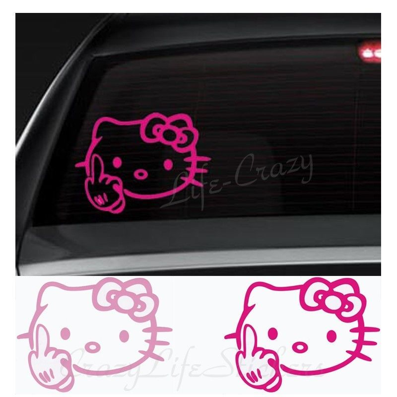 Uniball Roller Pens Micro Point Mm Blue Count Hello - Hello kitty custom vinyl decals for car