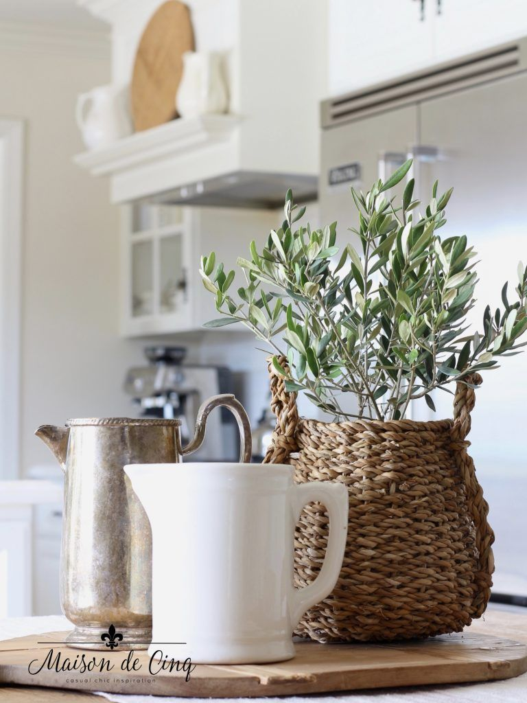 Tips for Winter Decorating & How to Beat the Decor Blues - Country house decor, French country decorating, Winter home decor, Winter decor, Farmhouse style kitchen, French country rug - By using flowers, cozy textures, and more, you can brighten up your home during these dreary winter months  Check out all of our tips for winter decorating!