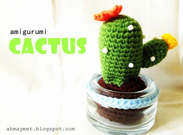 Amigurumi Cactus : Amigurumi cactus etsy
