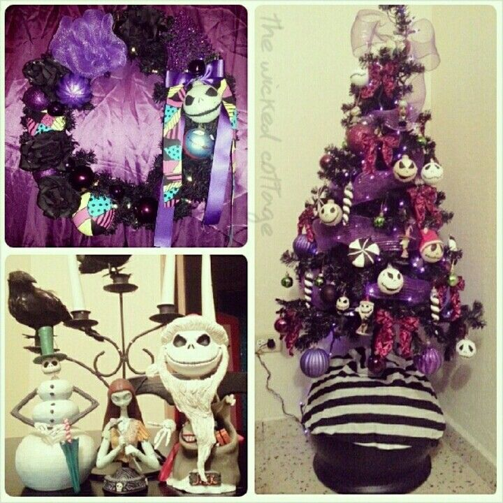 Halloween decor, Nightmare before Christmas Tim Burton, Christmas - tim burton halloween decorations