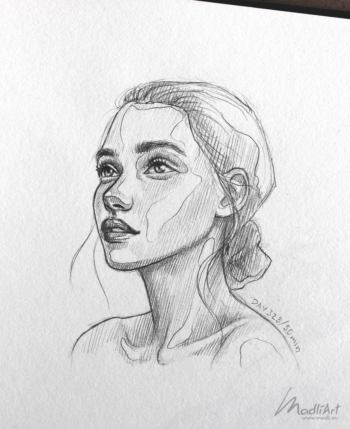 My Sketchbook Art I Drawing Happy Dreamy Girls I Cute Sketch I