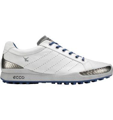 ECCO Men's BIOM Hybrid Golf Shoe - White/Royal
