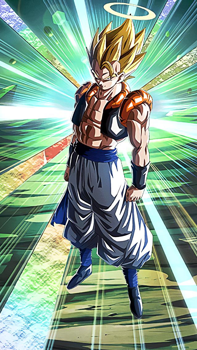 Fusion Of Two Powers Super Gogeta Dragon Ball Z Dokkan Battle Japanese Version Dragon Ball Art Dragon Ball Dragon Ball Super Goku