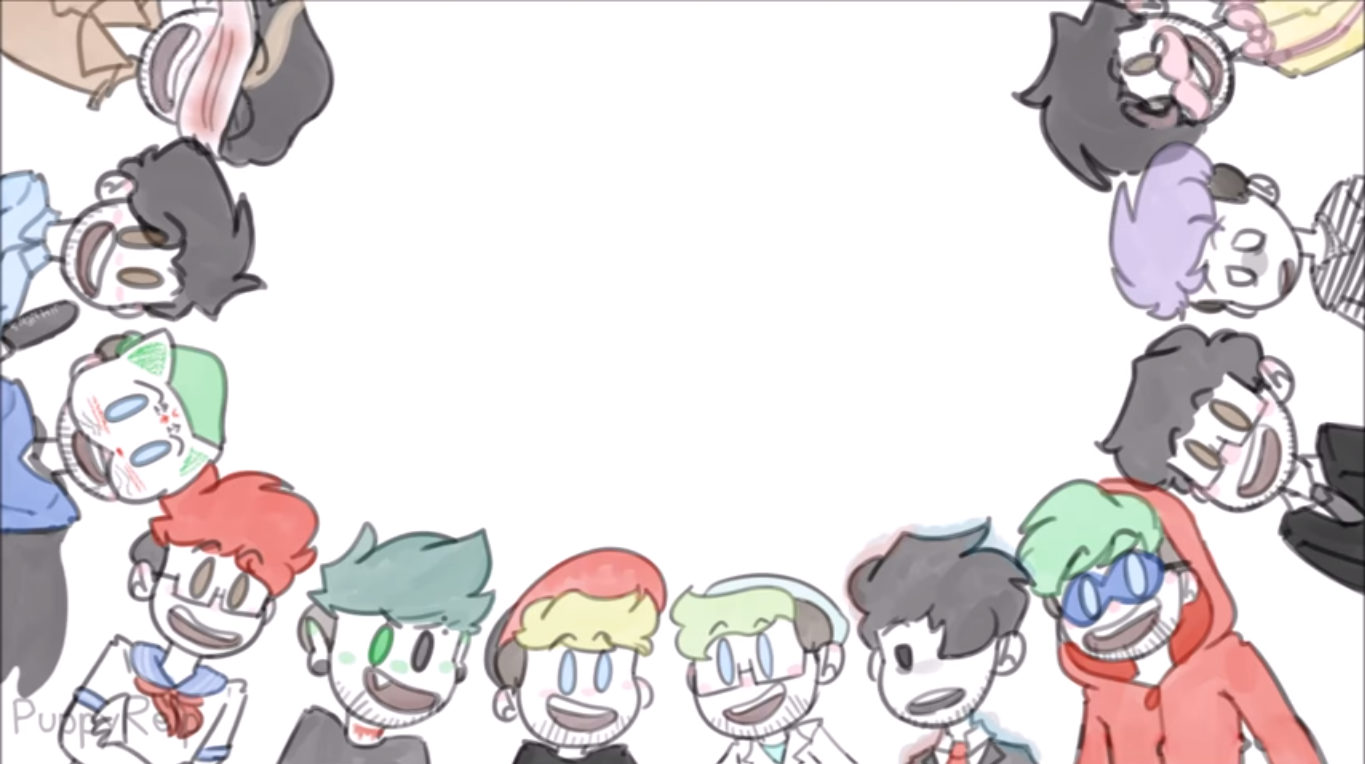 Host Jim Marvin The Magnificent Yandere Mark Antisepticeye Chase Brodey Dr Schneepelstien Darkiplier Jackaboyman Zomb Darkiplier Markiplier Jacksepticeye