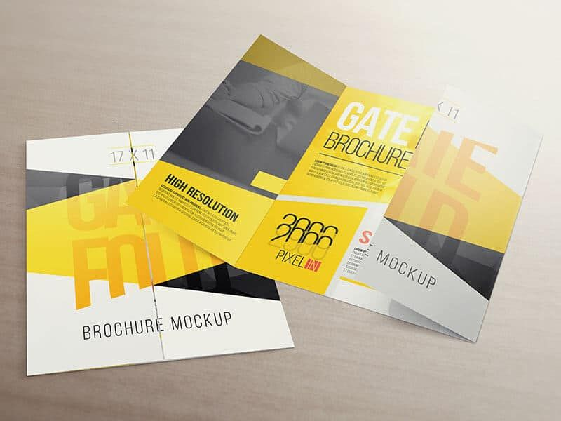 This Is Probably The Brochure Mockup You Are Looking For  X
