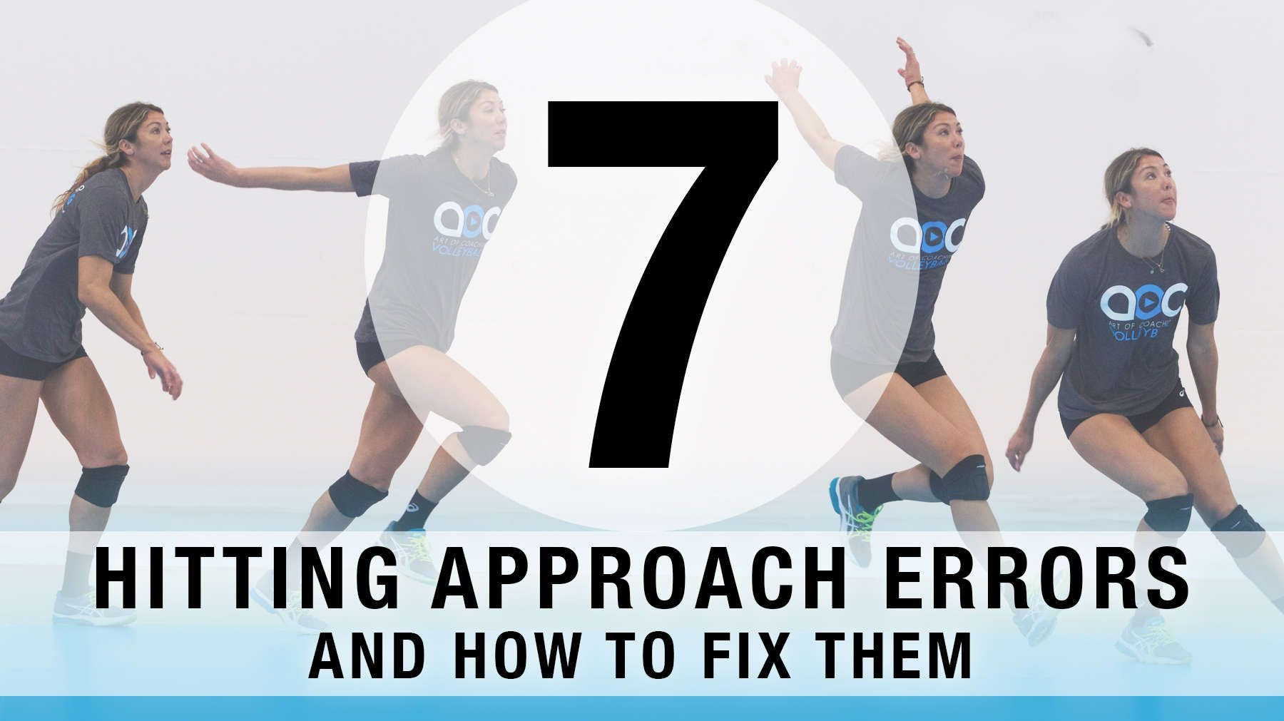 7 Common Hitting Approach Errors And How To Fix Them With Images Coaching Volleyball Volleyball Skills Volleyball Workouts