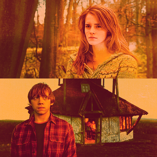 Ronald Weasley and Hermione Granger