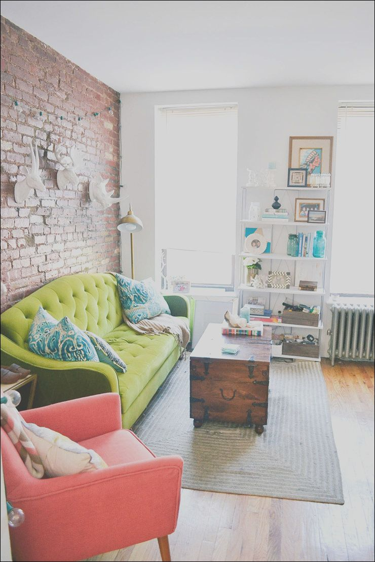 nyc apartment decor inspiration