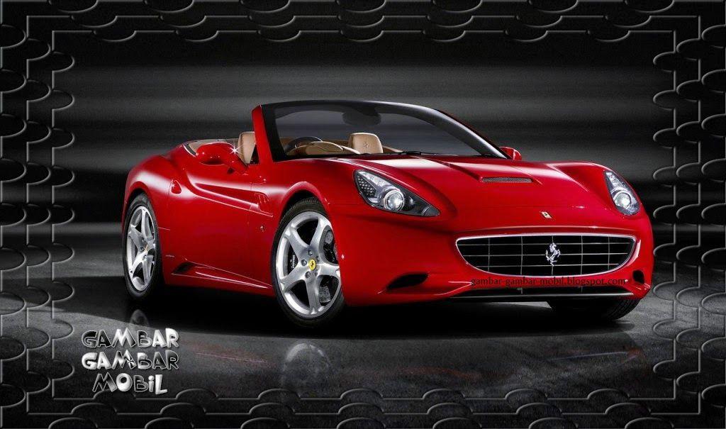 Gambar Mobil Keren Sedunia Gambar Gambar Mobil Ferrari California Ferrari Car Red Ferrari