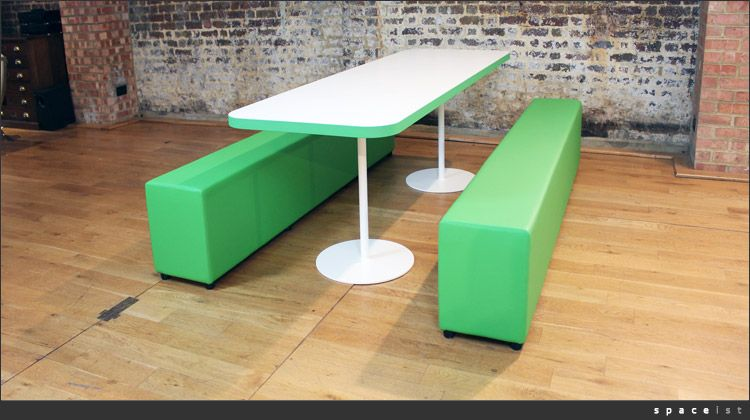 Cafe Style Office Furniture Can Benches Breakout Eist