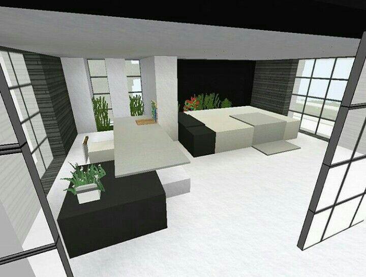 Minecraft modern interior | Minecraft modern, Minecraft ...
