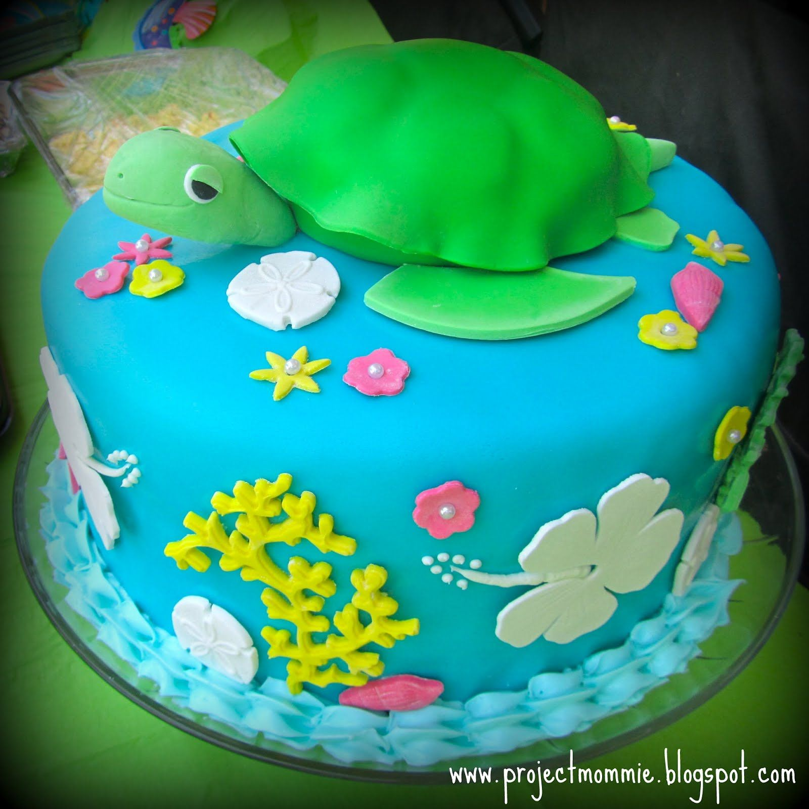 The Sea Turtle Cake This Would Be Great For My 30th Birthday Cake