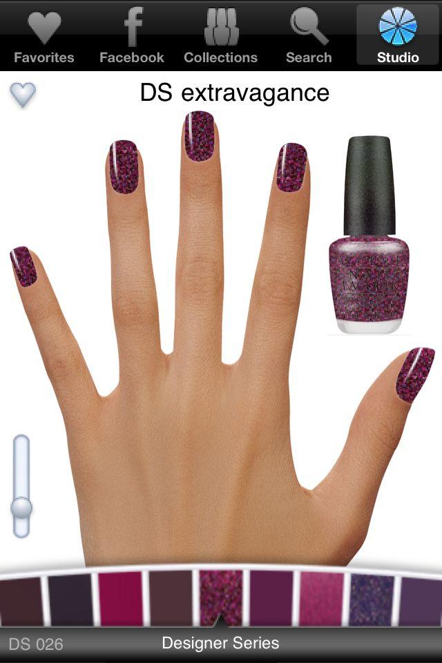 OPI nail polish APP | Beauty | Pinterest | Opi nails, OPI and Hair ...