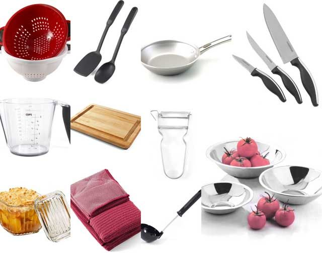 Essential Equipment And Supplies For The First College Apartment Mesmerizing Kitchen Items 2018