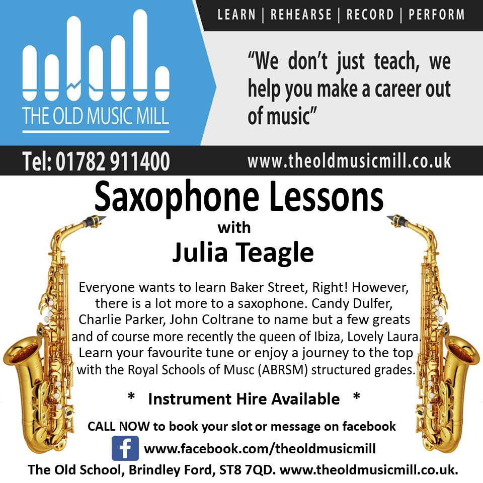 want to play the saxophone as good as the amazing laura? it's