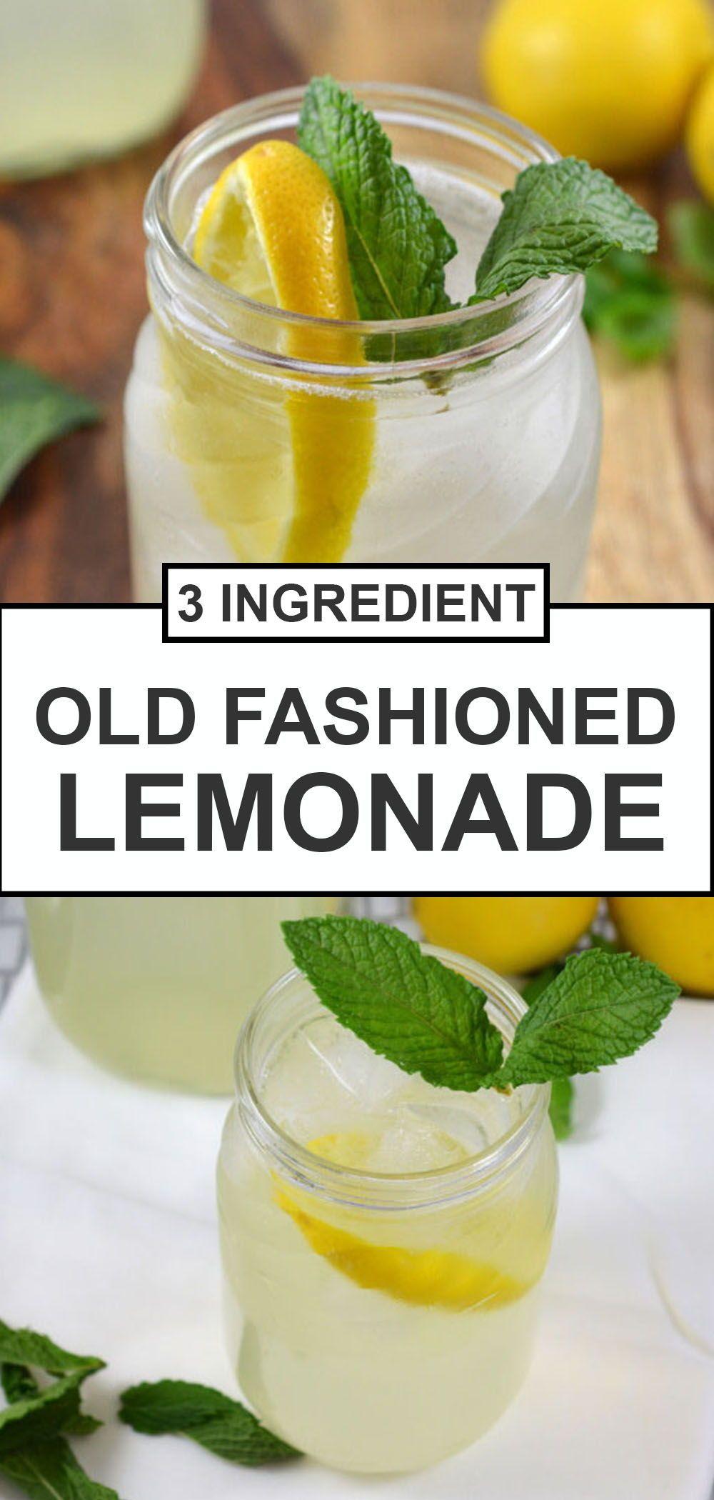Easy Lemonade Recipe (3 Ingredients!) - Chef Savvy