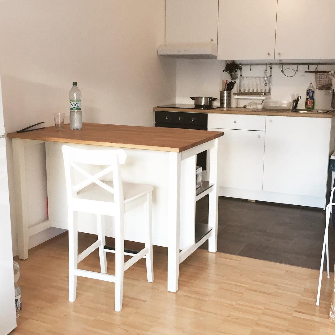 Having My Own Kitchen Is A Big Dream Come True Newflat Eigenewohnung Inlove Withmylove Ikea Kleinaberfein Wohnung Kuche Ikea Kuche Knoxhult Ikea