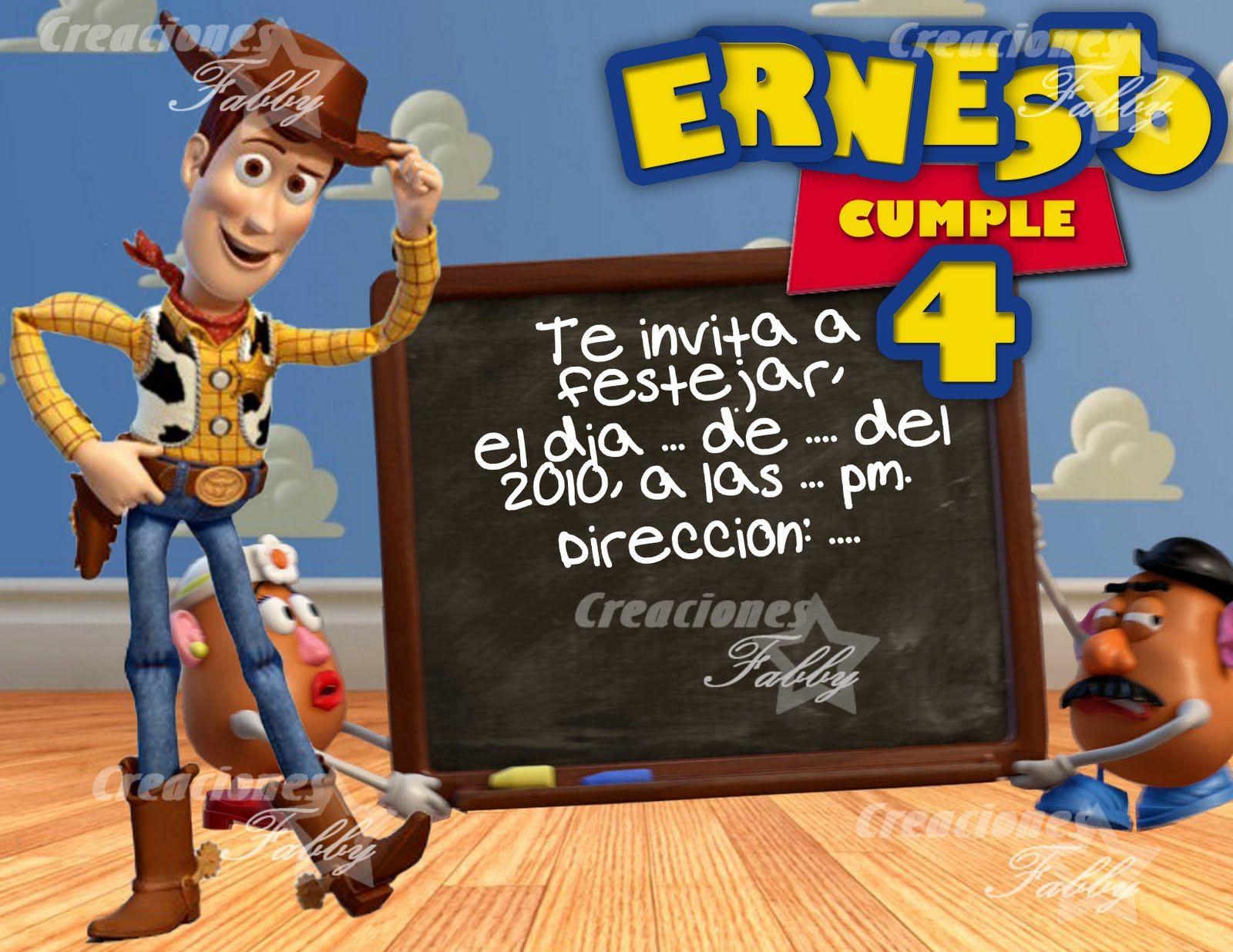 Tarjetas De Cumpleaños Toy Story Para Mandar Por Whatsapp 5