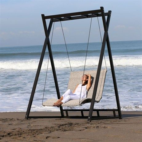 Supremo Heaven Swing - Twisted Oyster Weave (499219)   garden ...