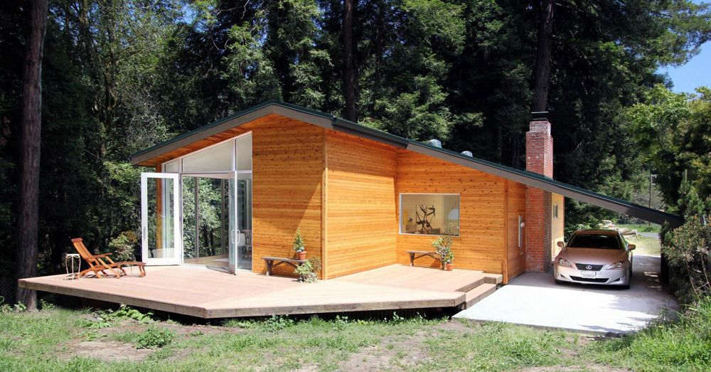 Lovely Summer House Design | Cottage chic, Cabin and Architects