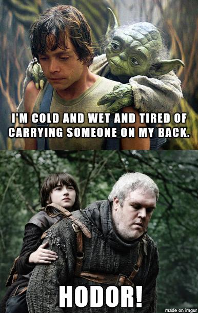Meme Battle Star Wars Vs Game Of Thrones Star Wars Memes Game Of Thrones Funny Game Of Thrones Pictures