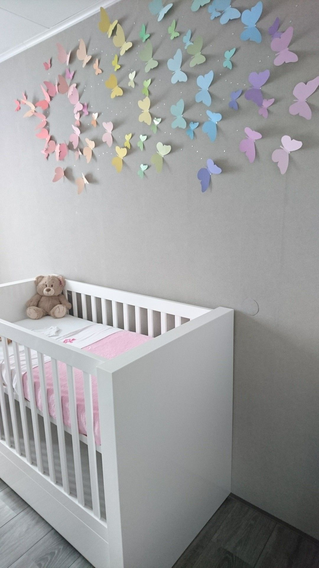 Butterfly Rainbow Nursery Baby Girl Nursery Butterfly Rainbow Nursery Baby Girl Nursery Room