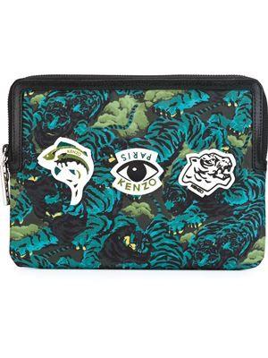 multi logo laptop case