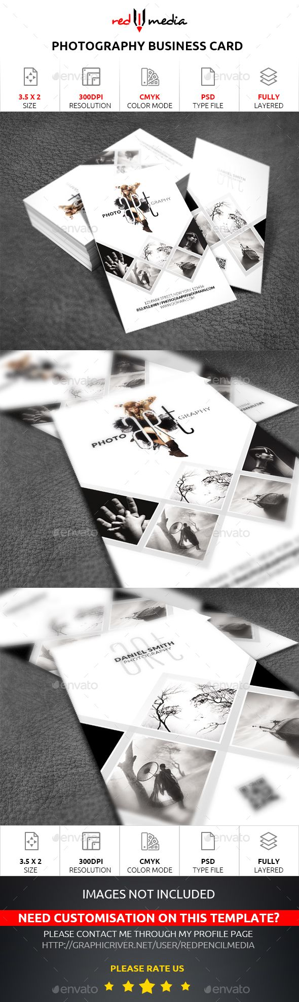 Photography Business Card - Business Cards Print Templates Download here : http://graphicriver.net/item/photography-business-card/15751340?s_rank=295&ref=Al-fatih