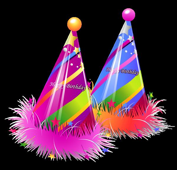 Party Hat Happy Birthday Png Happy Birthday Clip Art Birthday Party Hats