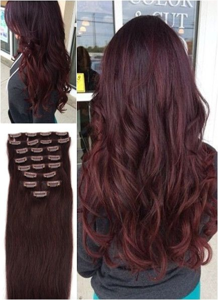 Temporary Hair Color Ideas Dark Reddish Auburn Stylish