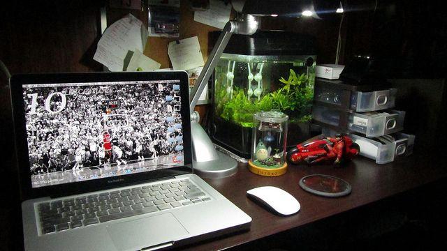 Mac and a Nano Tank