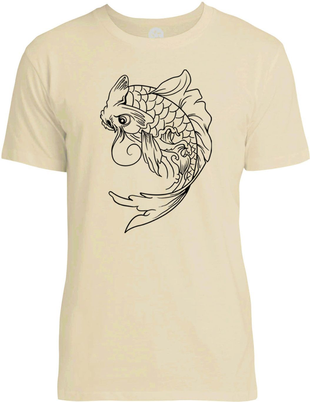 112bfd3c62a38 Koi Fish Tattoo T Shirts - BCD Tofu House