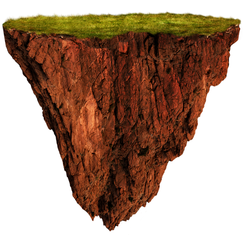 Any Guides To Making A Floating Island Landmark The Game Design De Cartaz Photoshop Colagens Artisticas