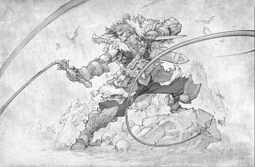 """"""" Another video game tribute. My take on Simon Belmont, from one..."""