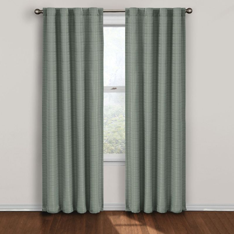 Superior Drapes, U0026 Curtains Twist Thermalayer Blackout Window Curtain Panel .
