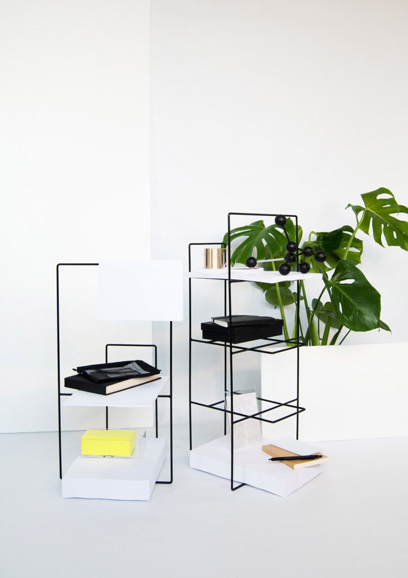 Fabulous Lvaro Daz Hernndez Designed A Collection Of Minimalist Storage  Furniture That Was Inspired By Nothing More Than A Simple Line With  Hngeschrank ...