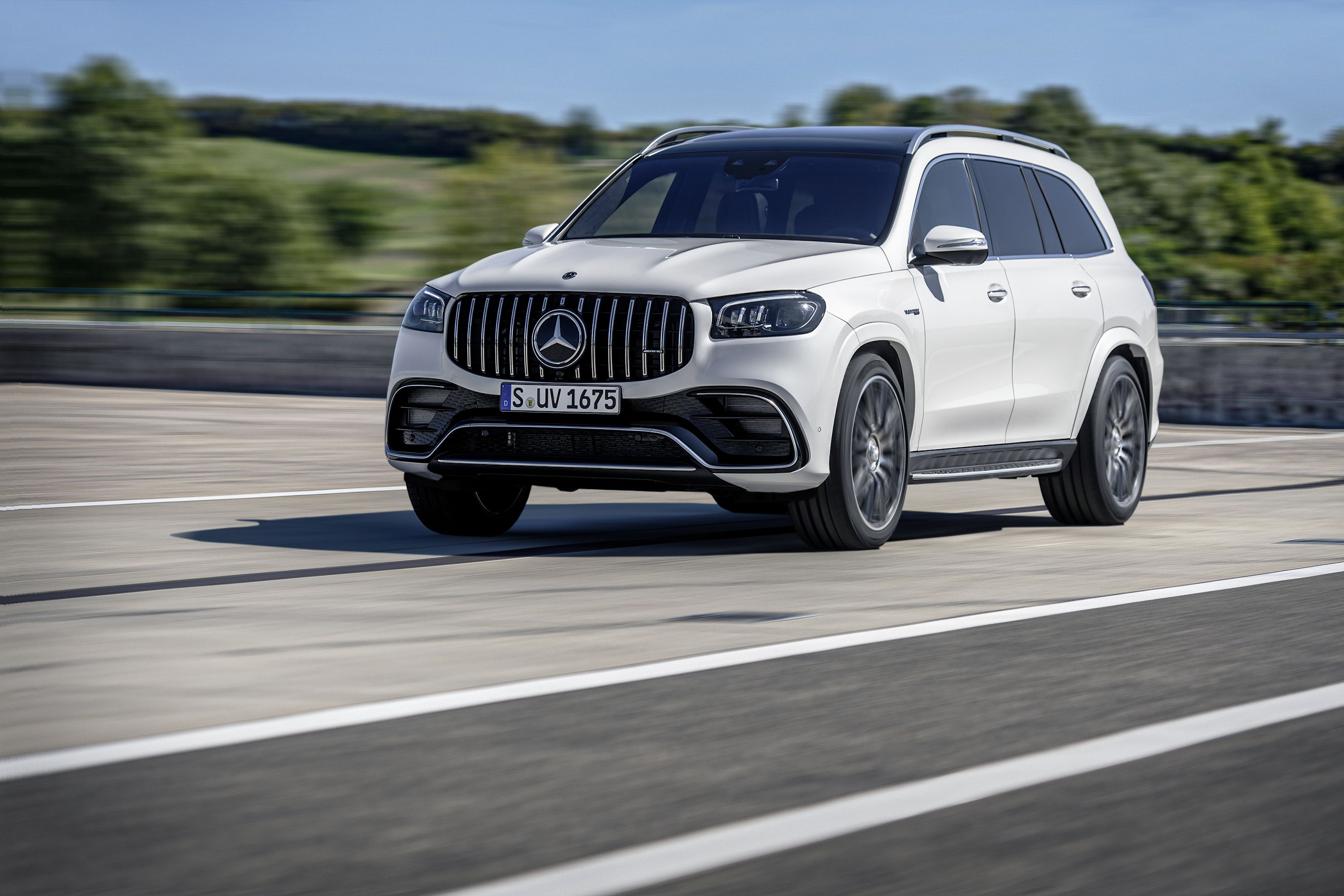 2021 Mercedes Amg Gls 63 4matic Picture Gallery And Details Top